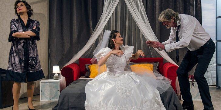 Vstupenka na divadelní představení: Dokud nás milenky nerozdělí