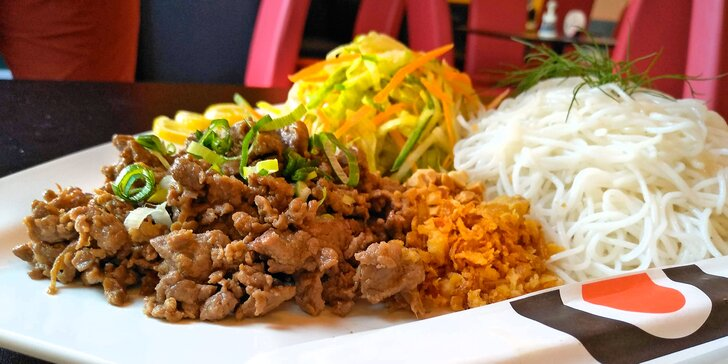 Skvělá asijská kuchyně v OC Olympia: Bun Nem nebo Bún bò Nam Bô