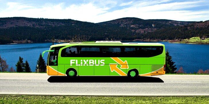 FlixBusem po ČR i Evropě: 15–30% sleva na vnitrostátní i mezinárodní spoje