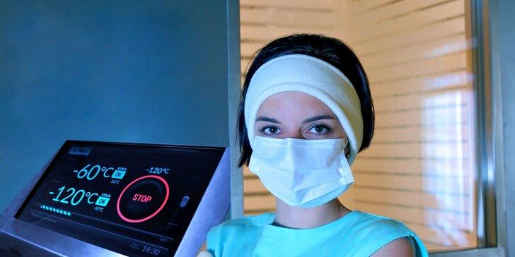 Podpora imunity: kryoterapie v -120 stupních Celsia