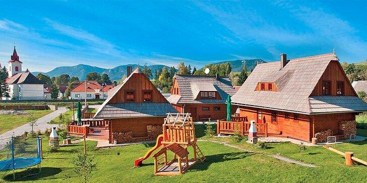 Podzim na Liptově: Apartmány či chalupa a sleva na vstupenky do Tatralandie