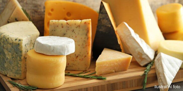 To nejlepší z Holandska: 200 gramů uleželé goudy nebo kozího sýra