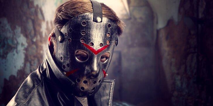 60 min. plných akce: úniková hra Sériový vrah pro 2-5 hráčů
