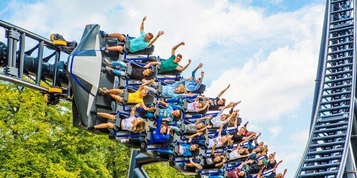 Vstupné do Energylandie: 1 nebo 2 dny v největším zábavním parku v Polsku