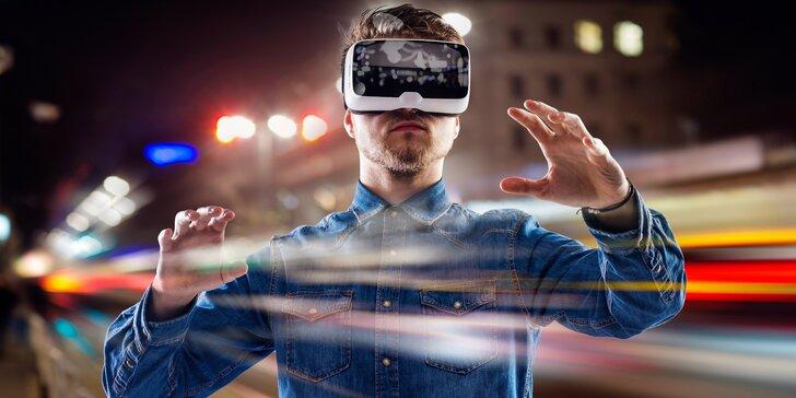 Virtuální realita až pro 4 osoby: 90 minut zábavy a výběr z mnoha her