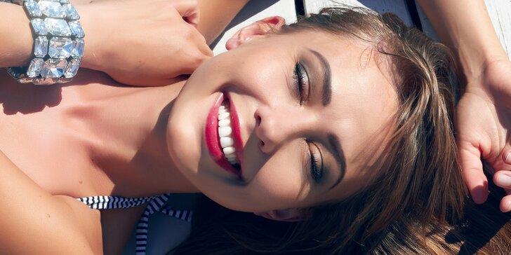 Zářivý úsměv šetrně: bělení zubů bez peroxidu a s remineralizací skloviny