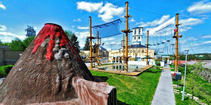 Vstupy do zábavního parku Permonium® a nově otevřeného Duhového světa