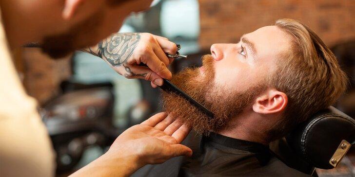 Luxusní péče i relax pro pány: Střih nebo holení v The Hipster Barbershopu
