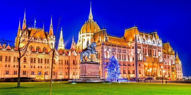 Výlet do Budapešti: Prohlídka vánočně vyzdobeného města a návštěva trhů