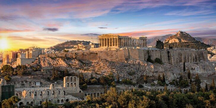 Poznávací zájezd do Řecka: 8 nocí, doprava, nejkrásnější místa i koupání