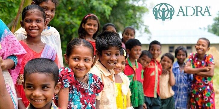 Dobroběžka = koloběžka, která pomáhá dětem v Bangladéši