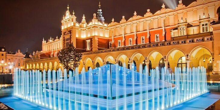 Poznejte všechny krásy polského Krakova: ubytování na 1–2 noci v 4* hotelu