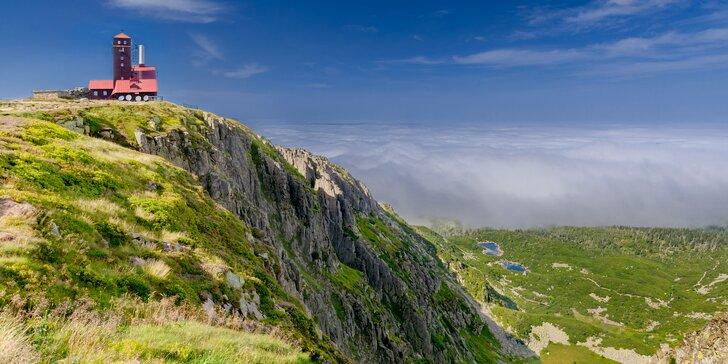 Podzim v Krkonošské přírodě: útulná chata pro dva nebo čtyři výletníky