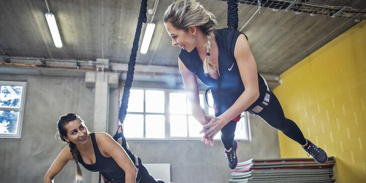 Zábavné a efektivní cvičení na laně: 1 nebo 5 lekcí jump bungee workout