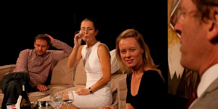 Vstupenka na představení 3 verze života na Letní scéně Harfa