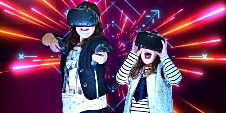 Hodina virtuální zábavy ve 3D Světě až pro 6: závody, western i hologramy