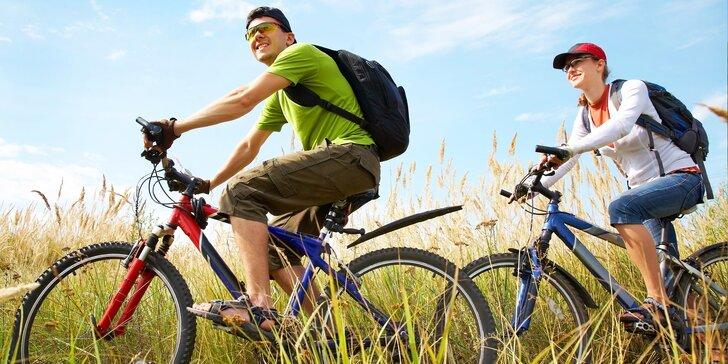 Zapůjčení jízdních kol ve špičkovém technickém stavu pro dospělé i děti