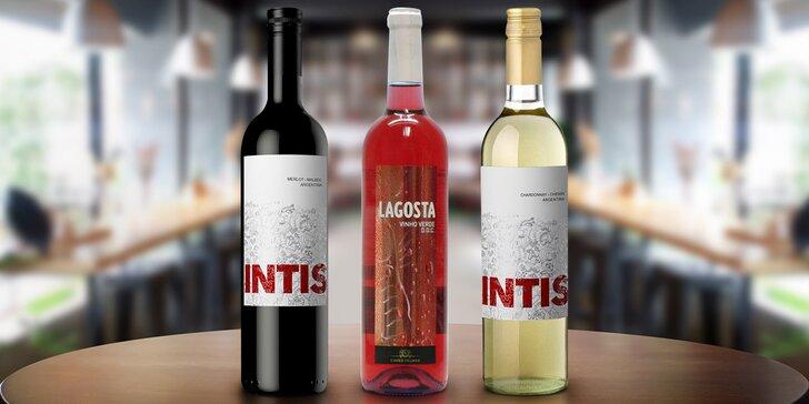 Připijte si dobrým vínem: bílé, růžové i červené pro jakoukoli příležitost