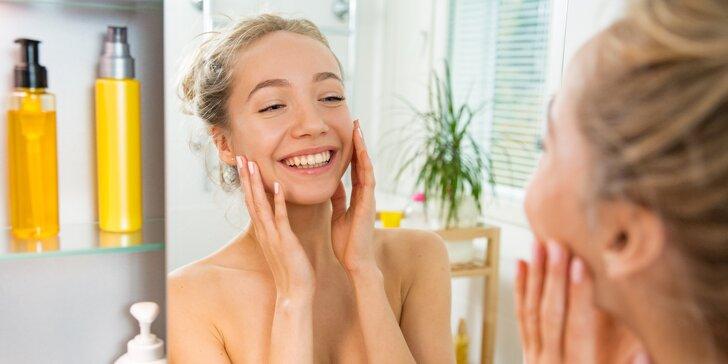 Vaše hodinka krásy: kompletní kosmetické ošetření vč. čištění ultrazvukem