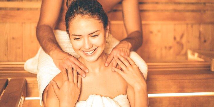 Soukromý relax pro dva v Sokol Wellness - sauna, vířivka a božský klid