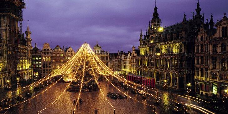 Kouzlo předvánoční Belgie: letenka, 3 noci se snídaní, Brusel, Gent i Bruggy