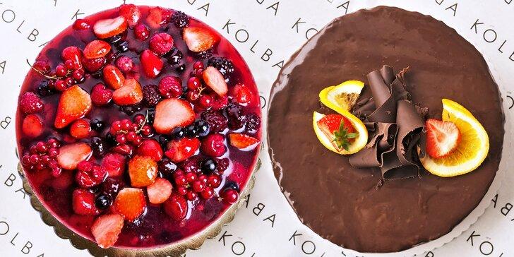 Úžasné dorty od Kolbaby: jogurtový s lesním ovocem nebo čokoládový
