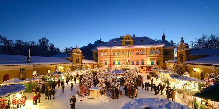 Výlet do adventního Rakouska: kouzelné trhy v Salzburgu i zámek Hellbrunn