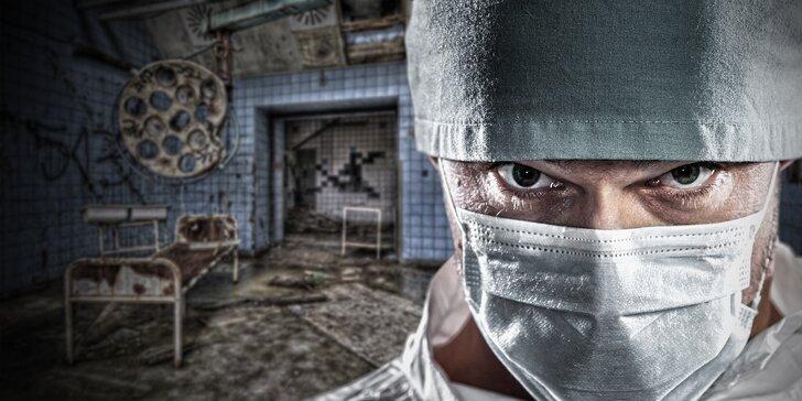 Odhalte vraha! Napínavá úniková hra v ordinaci šíleného doktora