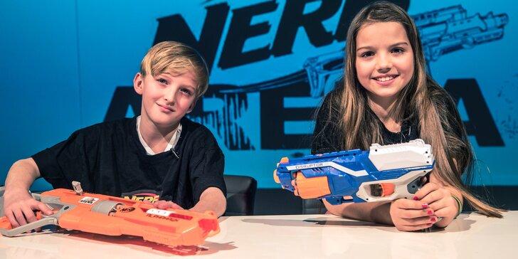Permanentka na střílečku v Nerf Areně: 4 nebo 10 tréninků pro děti do 15 let