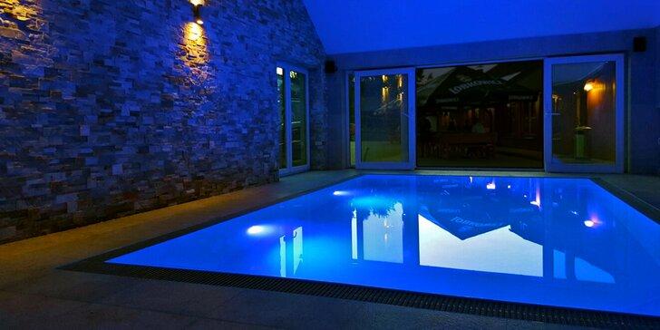 Relax v Jeseníkách: polopenze, bazén, privátní wellness a božská příroda