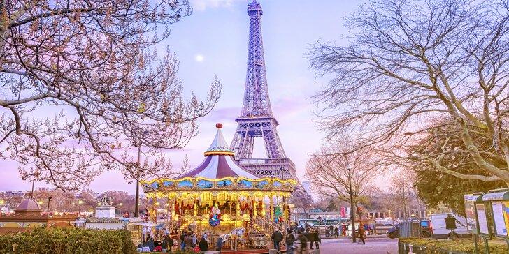 Kouzlo adventu v Paříži a ve Versailles s ubytováním na 1 noc se snídaní