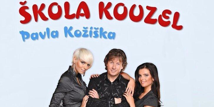 Škola kouzel Pavla Kožíška - vstupenka na představení pro děti