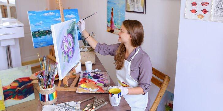 Kreslete & malujte: hodina ve výtvarném ateliéru nebo permanentka