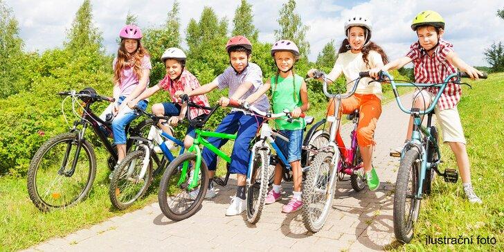 Děti v pohybu: jednodenní cyklistický camp