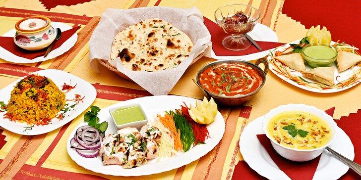 Indie na Smíchově: pořádně nabité 4chodové menu pro 2 nebo 4 osoby