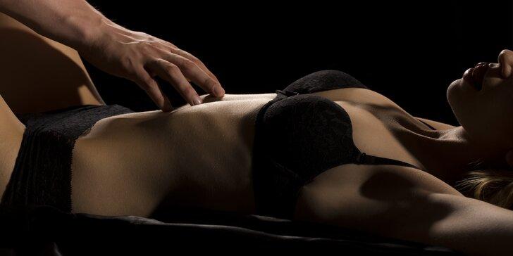 Tantrická masáž pro muže i ženy: sprcha, smyslný rituál a celostní masáž