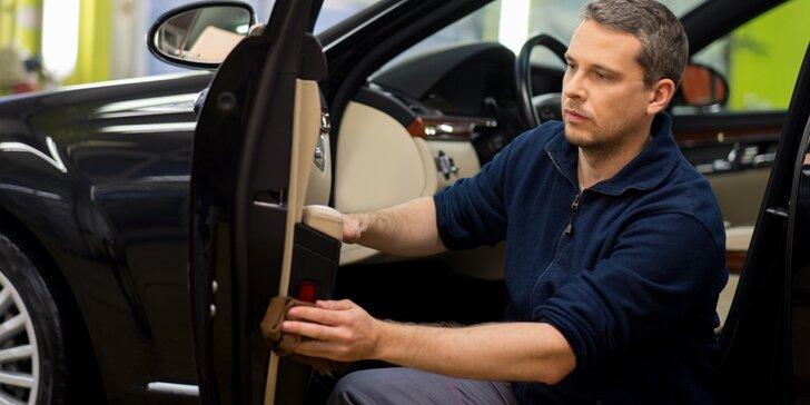 Auto jako ze žurnálu: mytí karoserie, čištění interiéru i kompletní péče