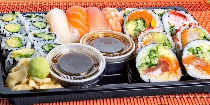 Jak říkají zákazníci: vynikající sushi sety s 22–38 kousky, některé i s polévkami