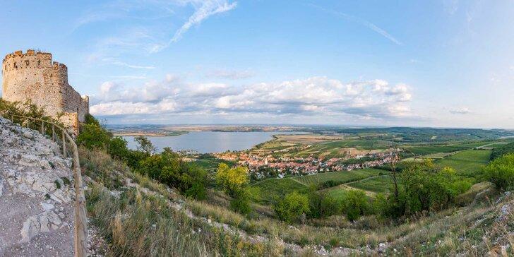 Jižní Morava v babím létě: 3–6 dní s polopenzí a degustací v Mandlárně