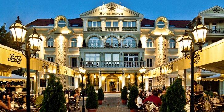 Relaxační wellness pobyt v 4* hotelu 200 m od největších termálů v Evropě
