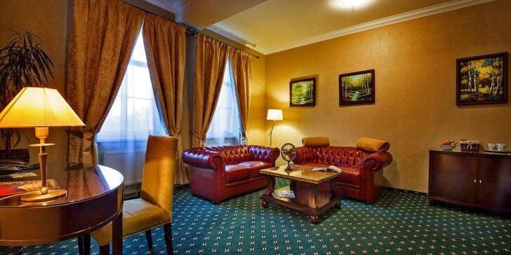 Atraktivní pobyt v Popradu v luxusním a komfortním pokoji se snídaní pro 2