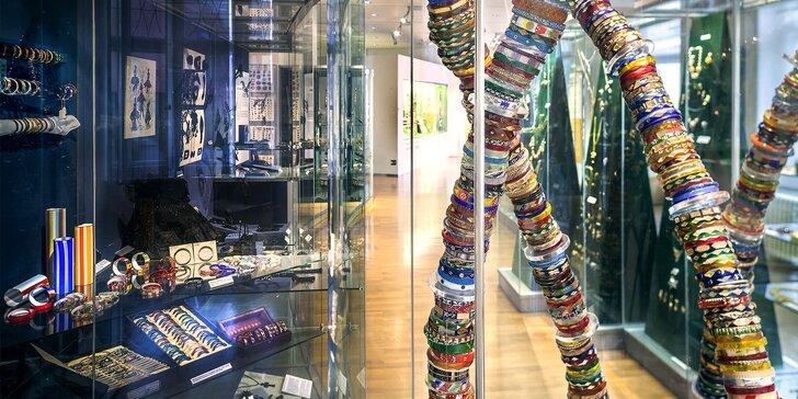 Vstupenky do jabloneckého Muzea skla a bižuterie pro jednotlivce i rodiny