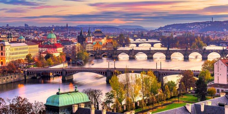 Podzimní výlet do Prahy: 4* hotel jen 10 minut od Václavského náměstí