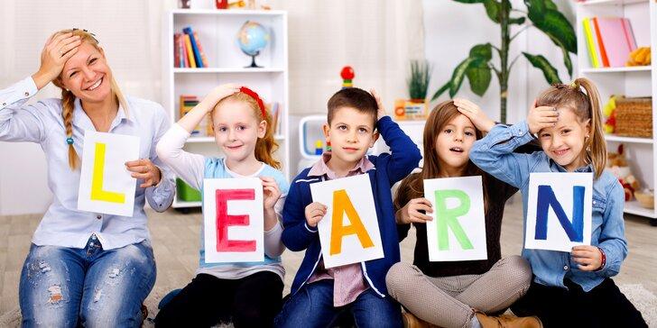 Semestrální kurz anglického jazyka pro školáky i předškoláky