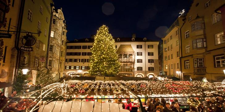 Adventní Innsbruck i s návštěvou magického světa křišťálu Swarovski