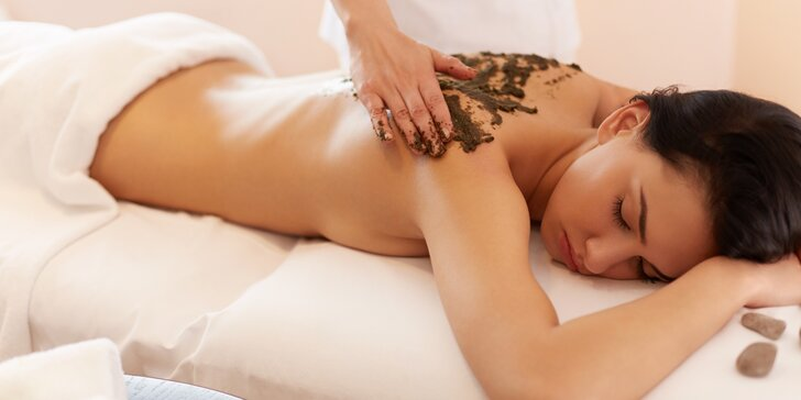 Relaxace s masáží: Čokoládová masáž se zábalem v délce 60 minut