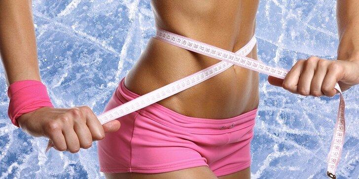 Pošlete špíčky k ledu: 1, 5 nebo 10 bezbolestných ošetření kryolipolýzou