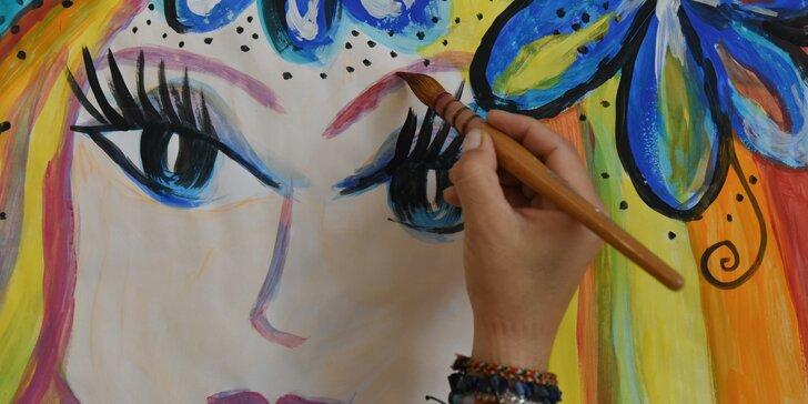 Hra malováním: 1 nebo 8 vstupů na výtvarný program pro každého