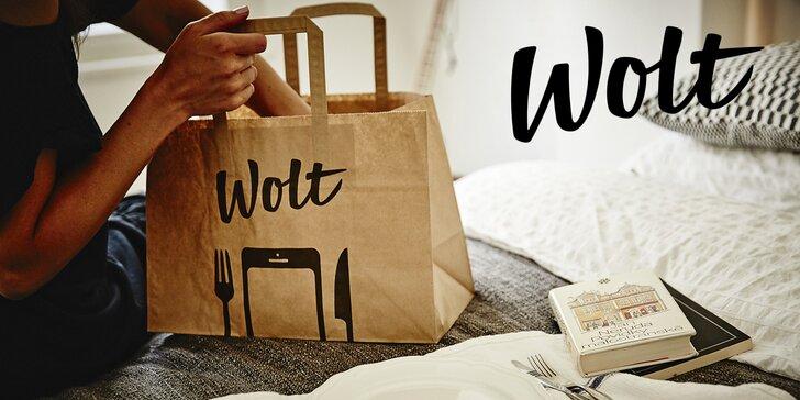 200 Kč na první objednávku jídla přes aplikaci Wolt: více než 50 restaurací