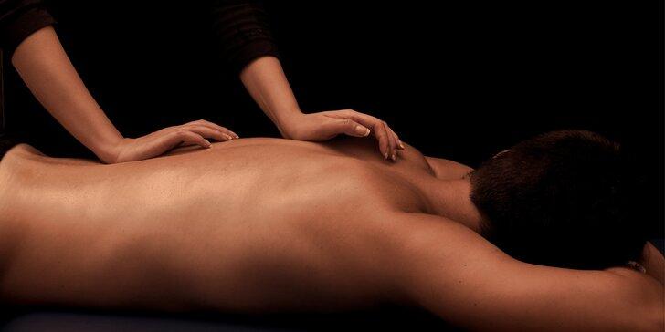 Báječné uvolnění zad a šíje: Klasická masáž v délce 40 minut